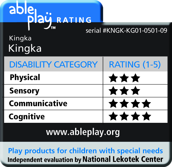 """AblePlay"" ratings from The National Lekotek Center"